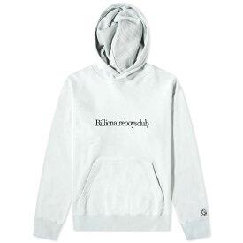 ビリオネアボーイズクラブ Billionaire Boys Club メンズ パーカー トップス【embroidered popover hoody】Powder Blue