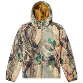 ビリオネアボーイズクラブ Billionaire Boys Club メンズ ダウン・中綿ジャケット アウター【tree camo padded zip jacket】Beige