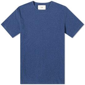 フォーク Folk メンズ Tシャツ トップス【everyday tee】Navy Melange