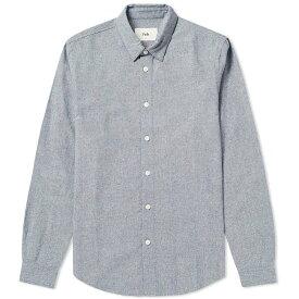 フォーク Folk メンズ シャツ シャンブレーシャツ トップス【chambray storm shirt】Navy Chambray Nep