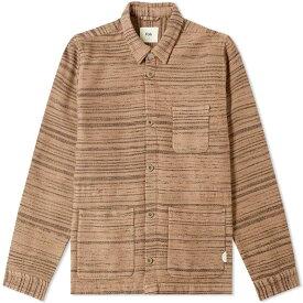 フォーク Folk メンズ ジャケット アウター【assembly woven chore jacket】Oatmeal Texture