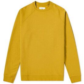フォーク Folk メンズ スウェット・トレーナー トップス【rivet crew sweat】Golden Yellow