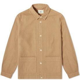 フォーク Folk メンズ ジャケット アウター【horizon chore jacket】Tan