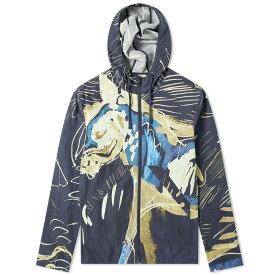 フォーク Folk メンズ ジャケット ウィンドブレーカー アウター【printed hooded windbreaker】Orpheus Print