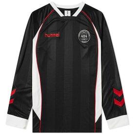 フォートゥーフォー 424 メンズ 長袖Tシャツ トップス【x hummel fairfax long sleeve jersey】Black