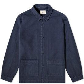 フォーク Folk メンズ ジャケット アウター【horizon chore jacket】Navy