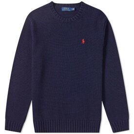 ラルフ ローレン Polo Ralph Lauren メンズ ニット・セーター トップス【chunky cotton knit】Hunter Navy