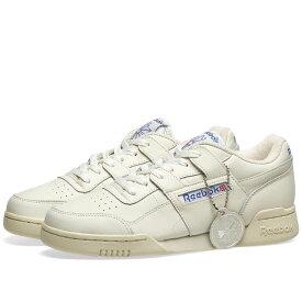 リーボック Reebok メンズ スニーカー シューズ・靴【workout plus 1987 vintage】Chalk/Paper White/Royal