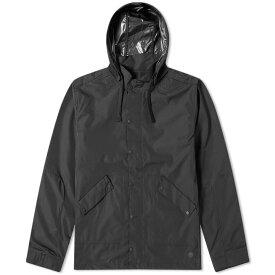 フォーク Folk メンズ レインコート アウター【hooded rain jacket】Black
