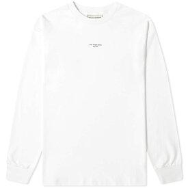 ドロール ド ムッシュ Drole de Monsieur メンズ 長袖Tシャツ トップス【long sleeve not from paris tee】White