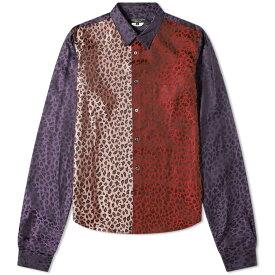 コム デ ギャルソン Comme des Garcons Homme Plus メンズ シャツ トップス【patchwork leopard print shirt】Multi