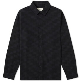 フォーク Folk メンズ シャツ トップス【ikat storm shirt】Navy Flare Ikat