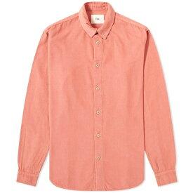 フォーク Folk メンズ シャツ トップス【baby cord shirt】Rhubarb