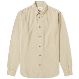 フォーク Folk メンズ シャツ トップス【baby cord shirt】Stone