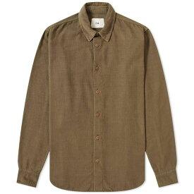 フォーク Folk メンズ シャツ トップス【baby cord shirt】Soft Green