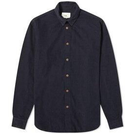 フォーク Folk メンズ シャツ トップス【baby cord shirt】Charcoal