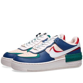 ナイキ Nike レディース スニーカー エアフォースワン シューズ・靴【air force 1 shadow w】Navy/White/Echo Pink