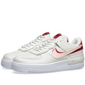 ナイキ Nike レディース スニーカー エアフォースワン シューズ・靴【air force 1 shadow w】Phantom/Echo Pink/Red