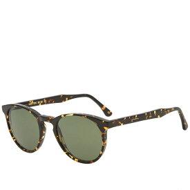 エル ジー アール L.G.R メンズ メガネ・サングラス 【norton sunglasses】Havana Scuro/Green G15