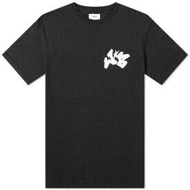 ソフネット SOPHNET. メンズ Tシャツ ロゴTシャツ トップス【SOPH. x Wild Bunch WB Small Logo Tee】Black
