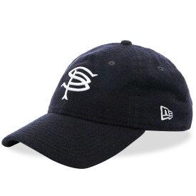 ソフネット SOPHNET. メンズ キャップ 帽子【x New Era Wool 9Fifty Cap】Navy