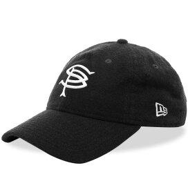 ソフネット SOPHNET. メンズ キャップ 帽子【x New Era Wool 9Fifty Cap】Black