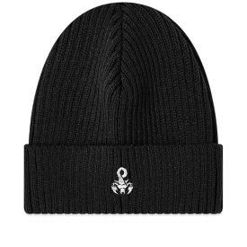 ソフネット SOPHNET. メンズ ニット ビーニー 帽子【Scorpion Logo Beanie】Black