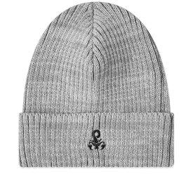 ソフネット SOPHNET. メンズ ニット ビーニー 帽子【Scorpion Logo Beanie】Grey