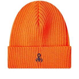 ソフネット SOPHNET. メンズ ニット ビーニー 帽子【Scorpion Logo Beanie】Orange