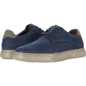 フローシャイム Florsheim メンズ スニーカー レースアップ シューズ・靴【Premier Plain Toe Lace-Up Sneaker】Navy Nubuck