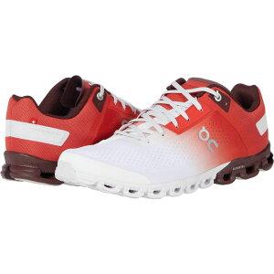 オン On レディース ランニング・ウォーキング シューズ・靴【Cloudflow】Rust/White