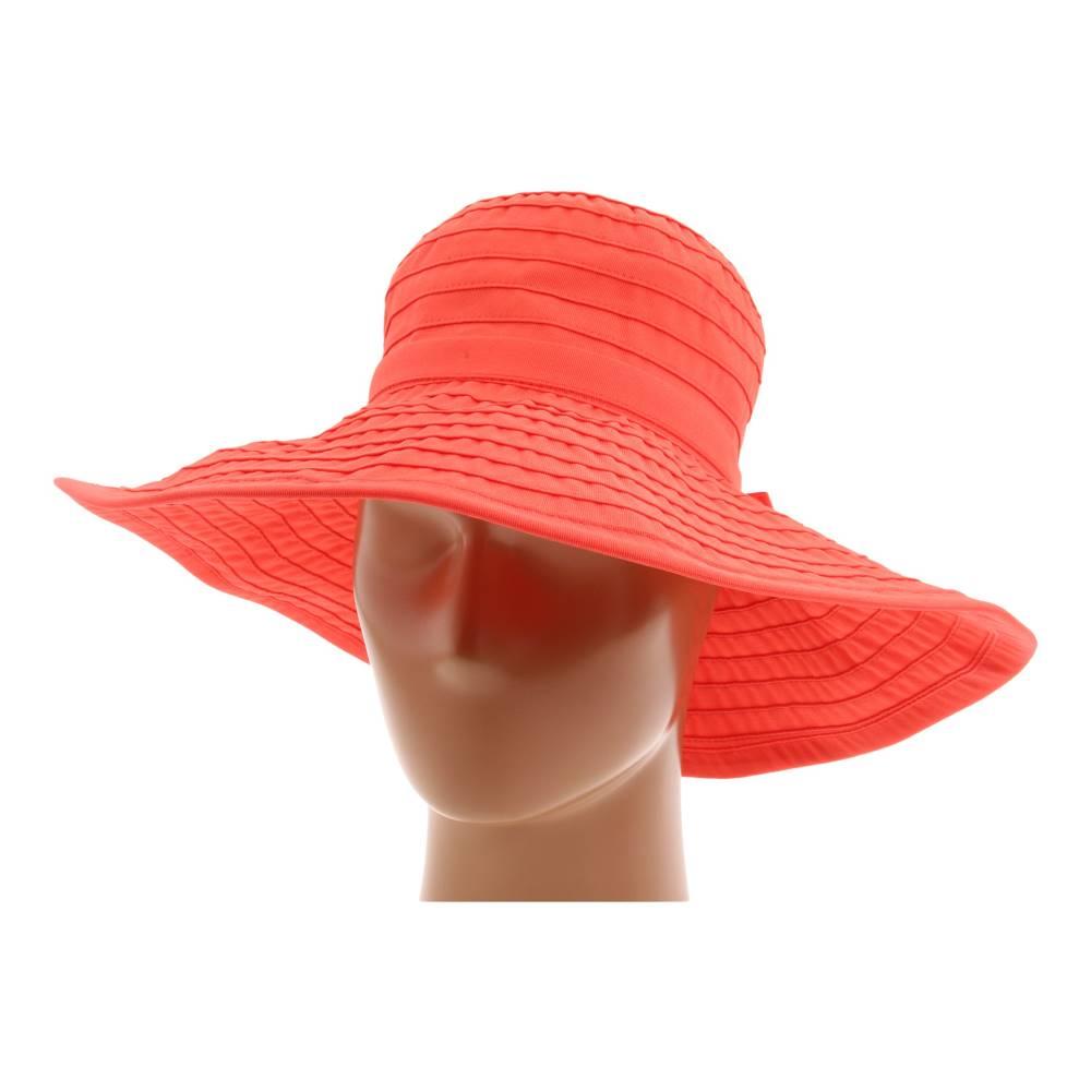 サンディエゴハット レディース 帽子 ハット【RBL299 Crushable Ribbon Floppy Hat】Coral