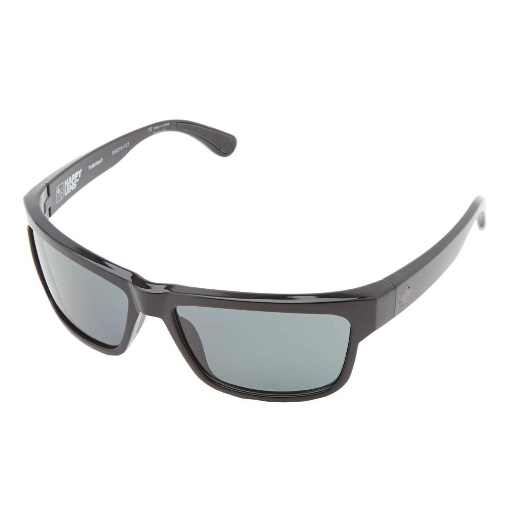 スパイ メンズ ファッション小物 スポーツサングラス【Frazier (Happy Lens)】Black - Happy Grey Green Polar