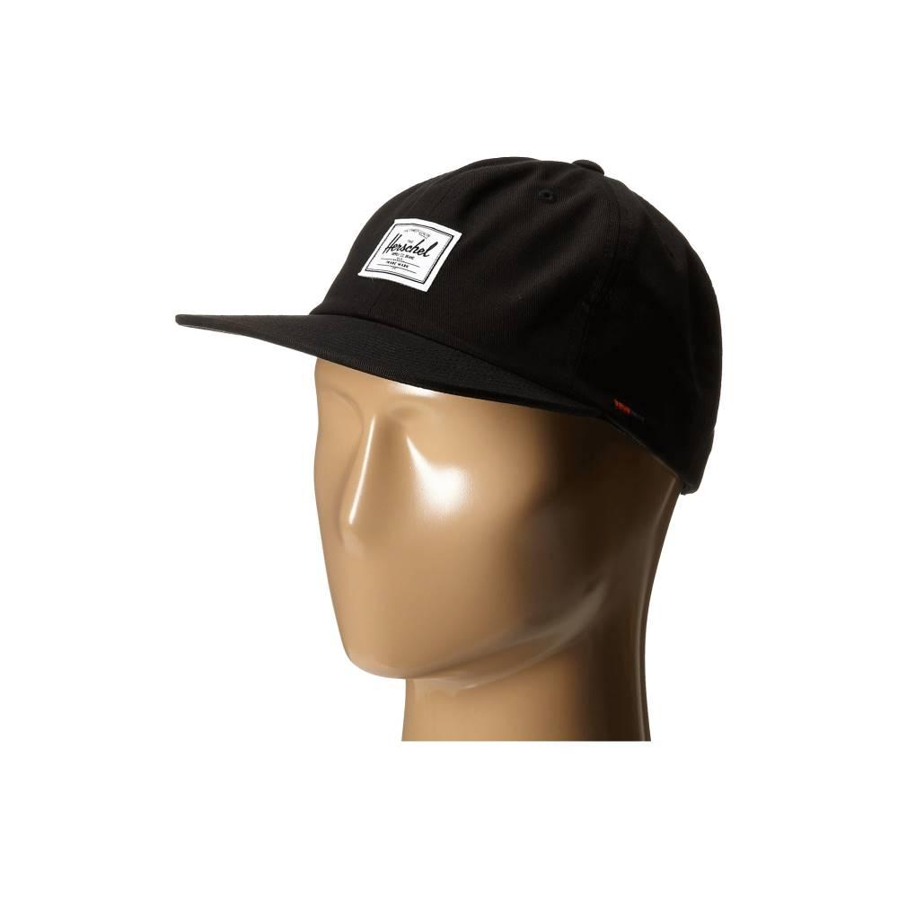 ハーシェル サプライ メンズ 帽子 キャップ【Albert】Black