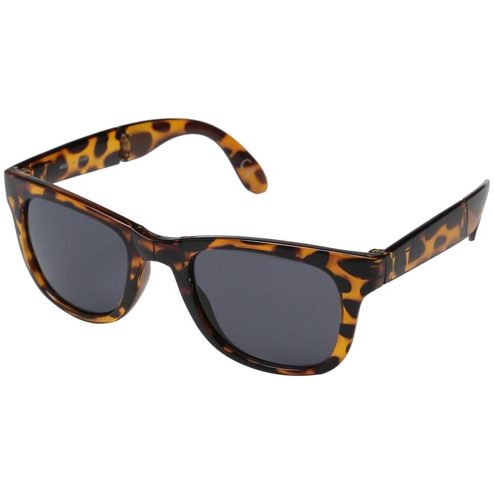 ヴァンズ メンズ ファッション小物 スポーツサングラス【Foldable Spicoli Shades】Translucent Honey Tortoise