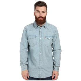 リーバイス メンズ トップス【Standard Barstow Western Shirt】New Age Bleach