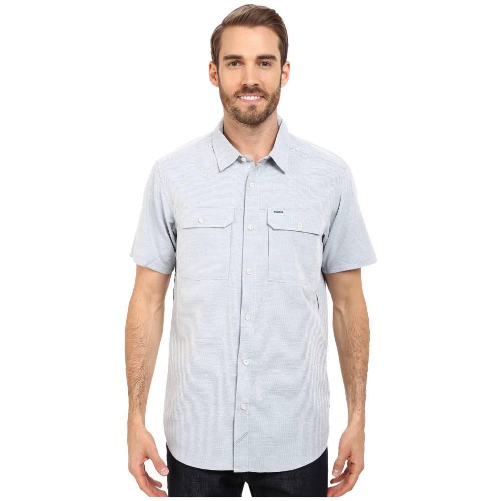マウンテンハードウェア メンズ トップス 半袖シャツ【Canyon' S/S Shirt】Phoenix Blue