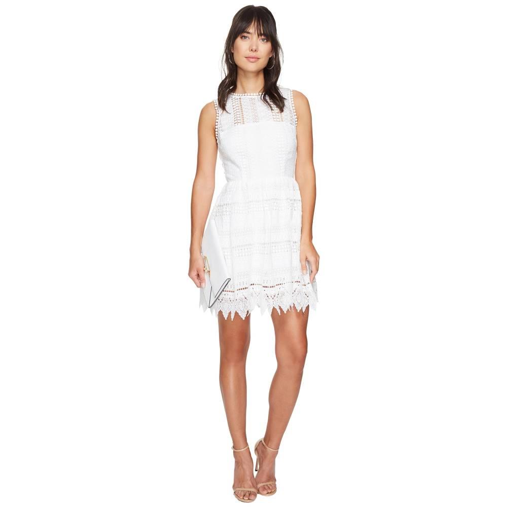 ダコタ レディース ワンピース・ドレス ワンピース【Elissa Lace Fit N Flare Dress】Ivory