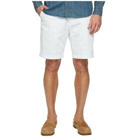 ノーティカ メンズ ボトムス・パンツ ショートパンツ【Anchor Twill Flat Front Shorts】Bright White