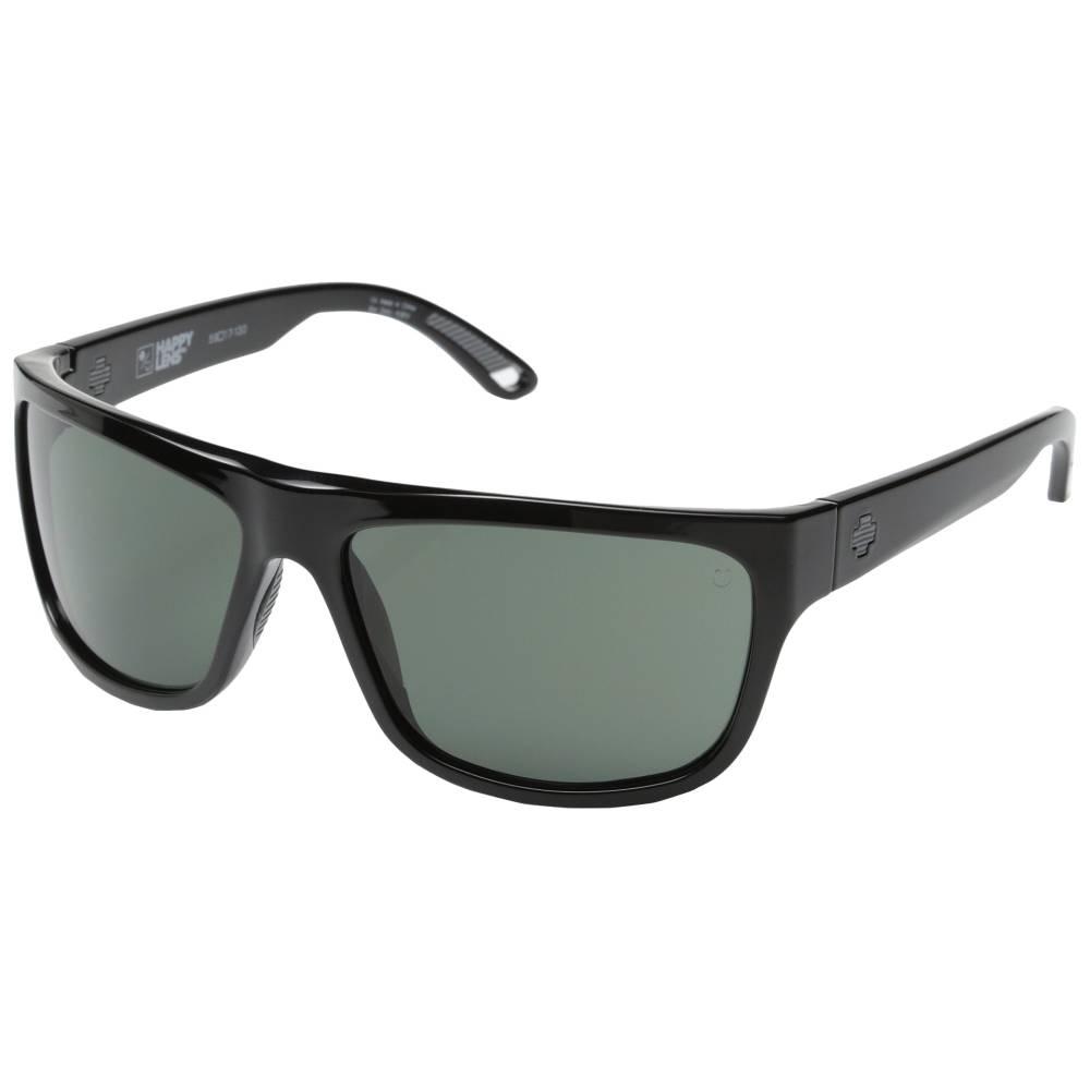 スパイ メンズ ファッション小物 スポーツサングラス【Angler】Black/Happy Grey Green