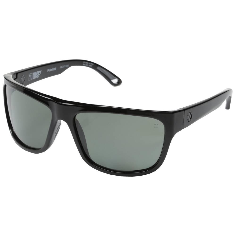 スパイ メンズ ファッション小物 スポーツサングラス【Angler Polarized】Black/Happy Grey Green Polar
