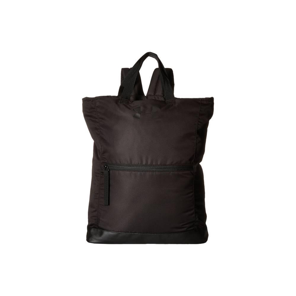 アンダーアーマー レディース バッグ バックパック・リュック【UA Multi-Tasker Backpack】Black/Black/Black