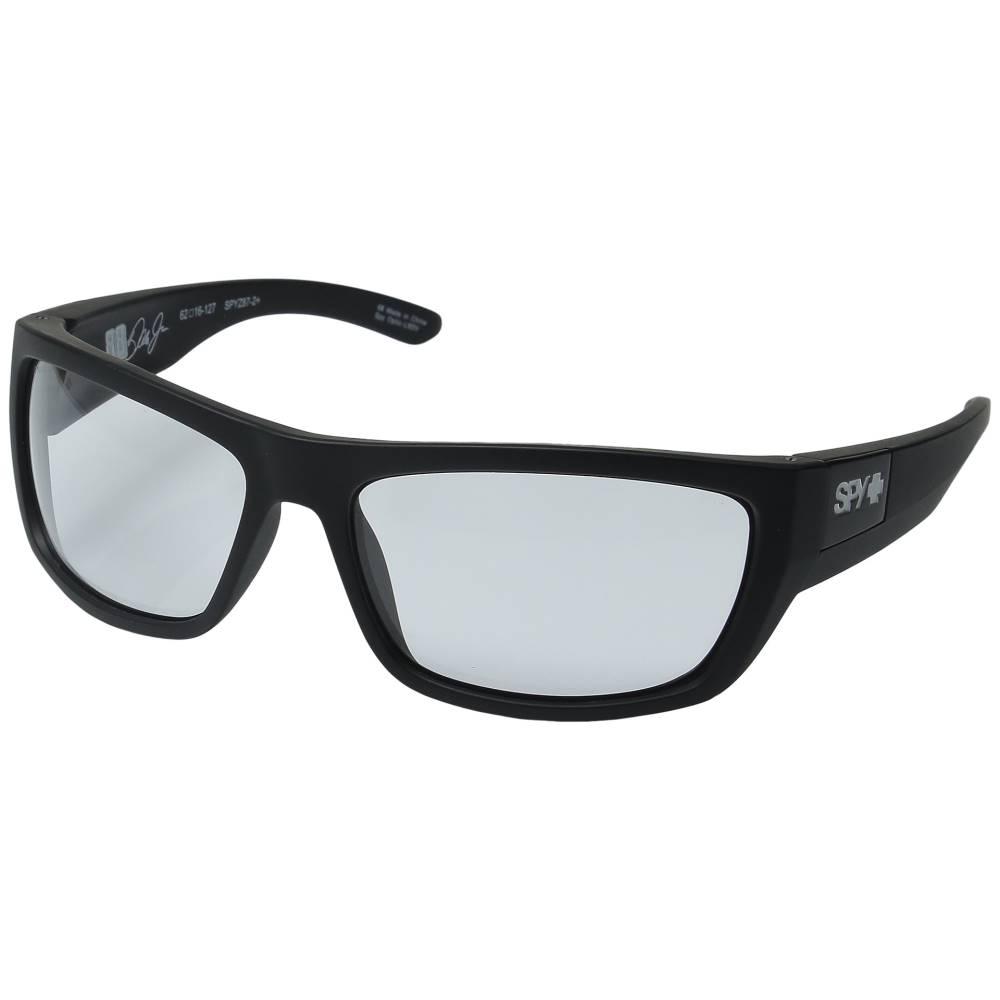 スパイ メンズ ファッション小物 スポーツサングラス【Dega】Ansi Rx/Matte Black/Clear