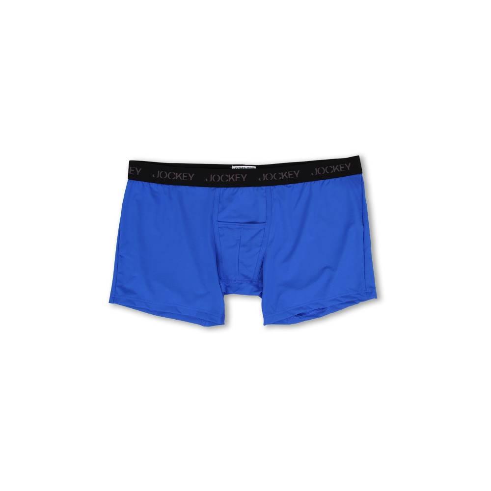 ジョッキー メンズ インナー・下着 ボクサーパンツ【Big Man Microfiber Performance Boxer Brief】Outrageous Blue