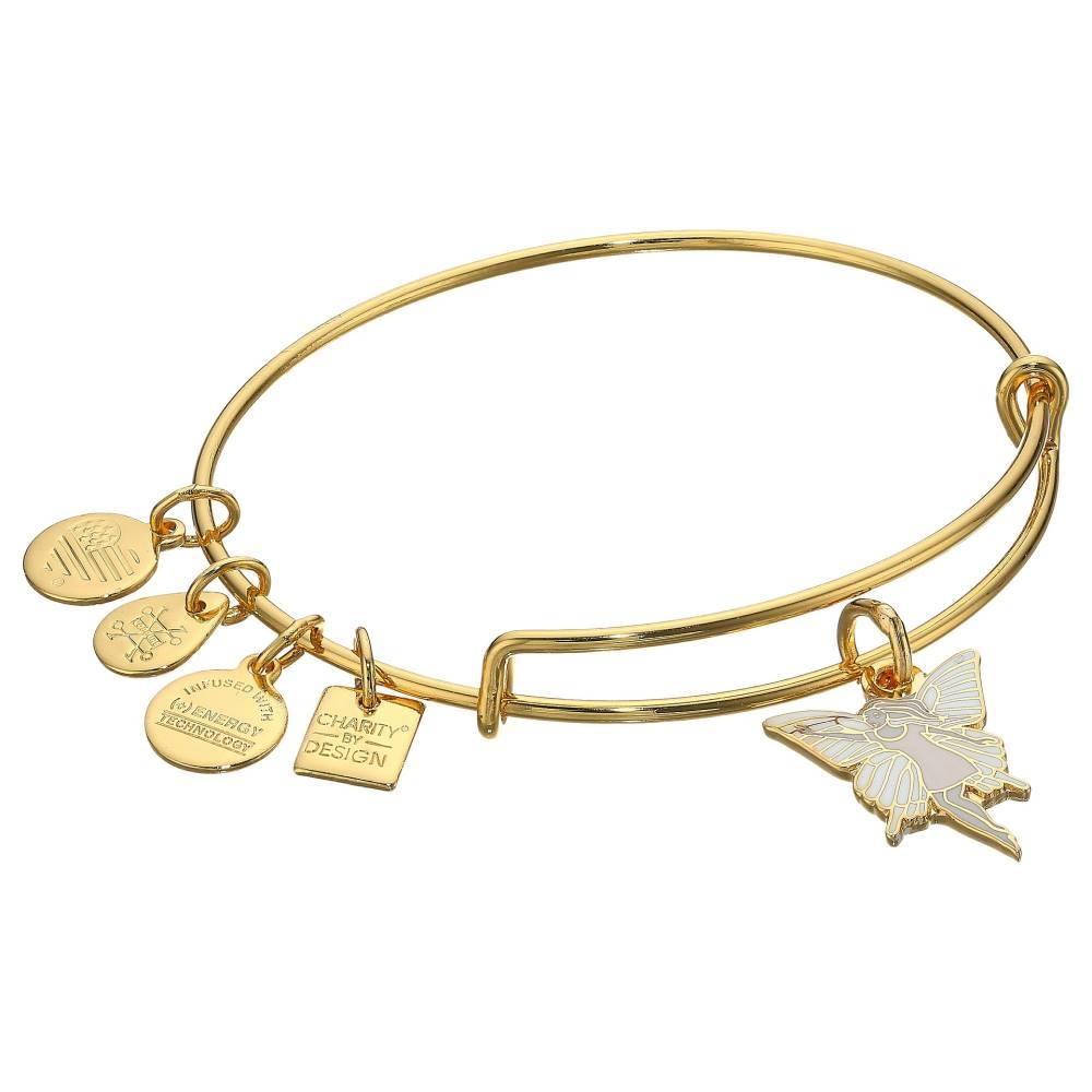 アレックス アンド アニ レディース ジュエリー・アクセサリー ブレスレット【Charity By Design - Give Kids the World Village - Fairy Bangle】Shiny Gold