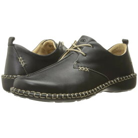 ジョセフセイベル レディース シューズ・靴 ローファー・オックスフォード【Lindsay 2】Dakota Black Leather