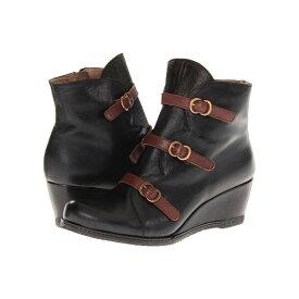 エリック マイケル レディース シューズ・靴 ブーツ【Lena】Black