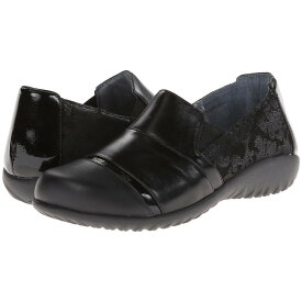 ナオトフットウェアー レディース シューズ・靴 ローファー・オックスフォード【Miro】Black Lace Nubuck/Metallic Road Leather/Black Madras Leather/Jet