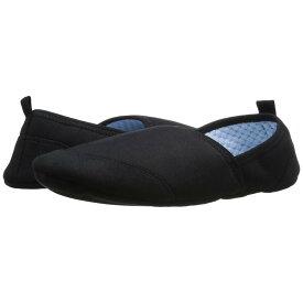 エーコーン メンズ シューズ・靴 スリッパ【Pack & Go Moc w/ Travel Pouch】Black