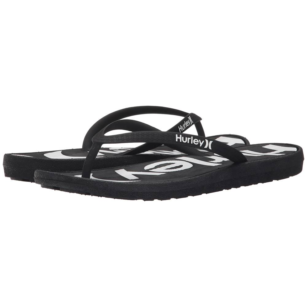 ハーレー レディース シューズ・靴 サンダル・ミュール【One & Only Printed Sandal】Black